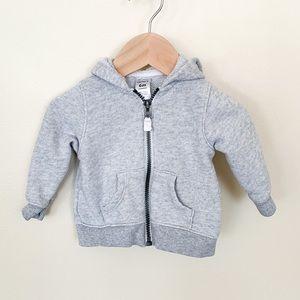 Carter's | Baby Boy Grey ZIP-up Jacket 6 Month